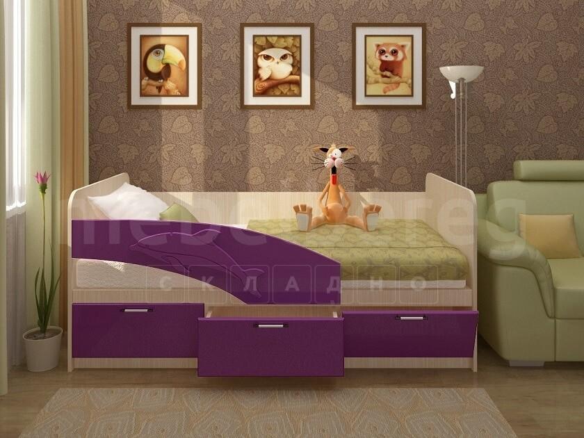Детская кровать Дельфин 200 см