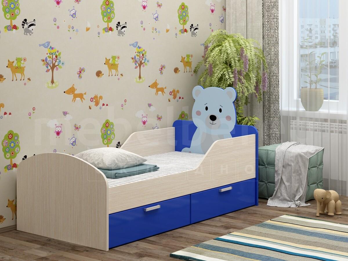 Детская кровать Бемби-5 с фотопечатью