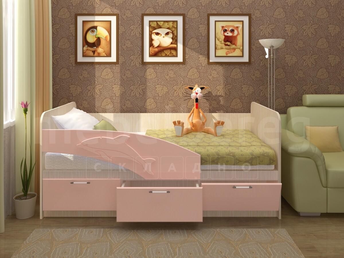 Детская кровать Дельфин 180 см