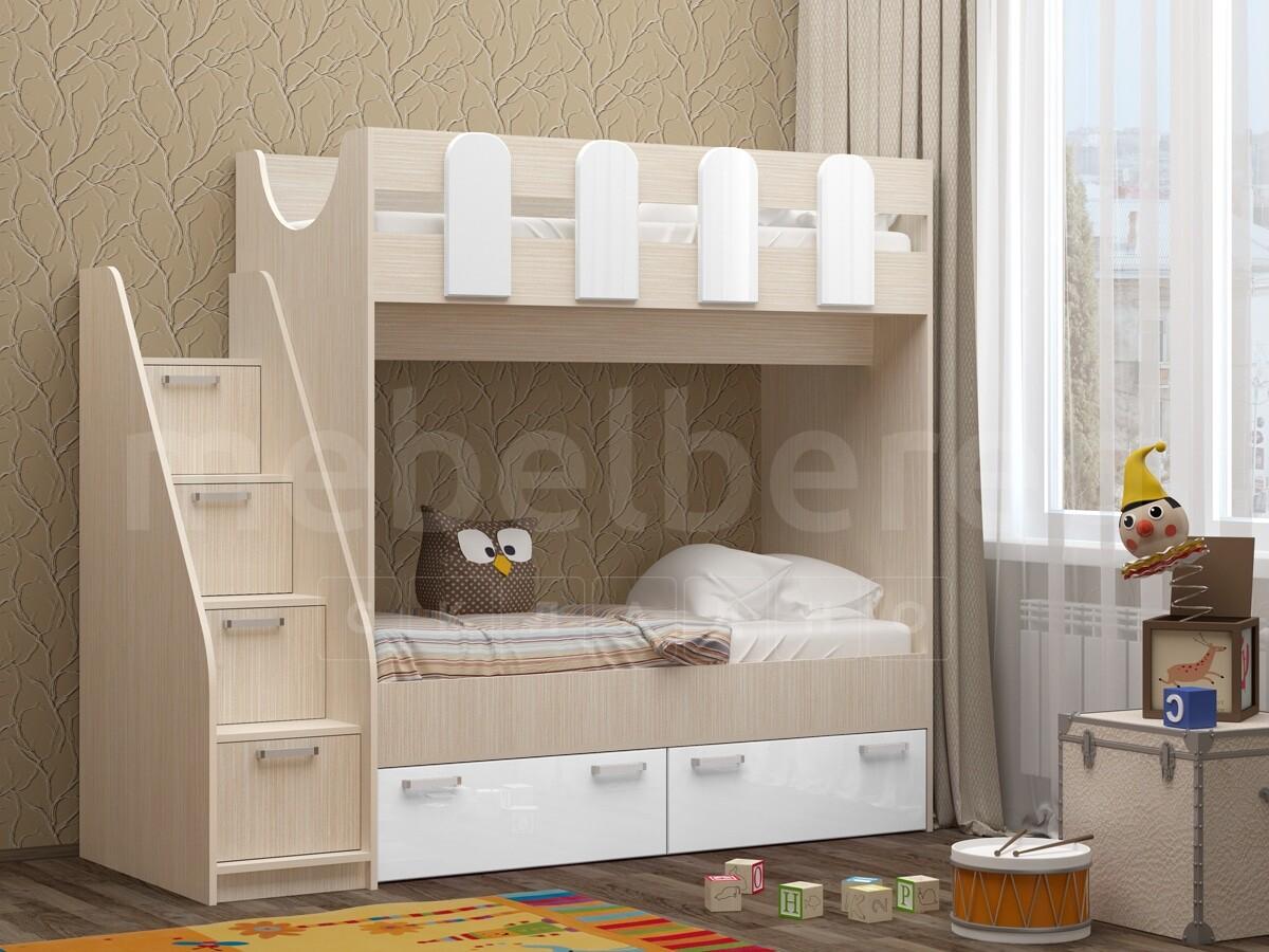 Двухъярусная кровать Бемби-11