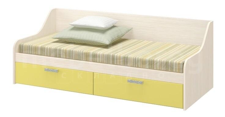 Детская кровать ДЮ-01 с ящиками, мдф фасад