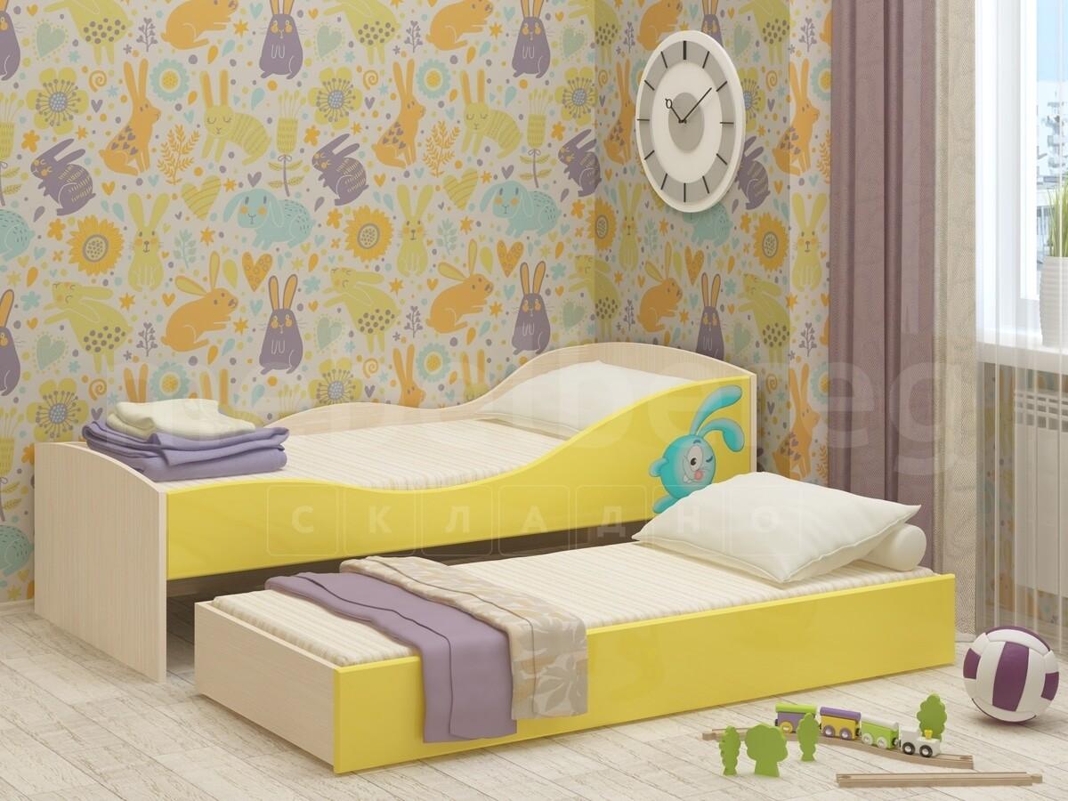 Детская выдвижная кровать Юниор-10